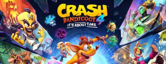 Fiche du jeu Crash Bandicoot 4- It's About Time