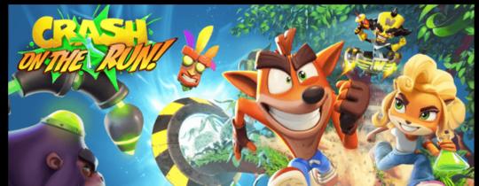 Crash Bandicoot: On the run sur iOS