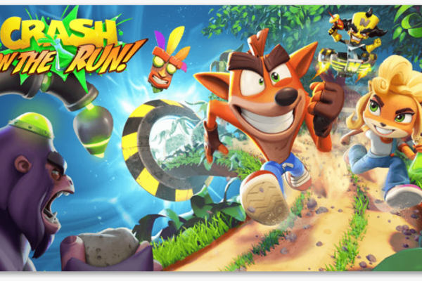 Crash Bandicoot: On the run sur iOS
