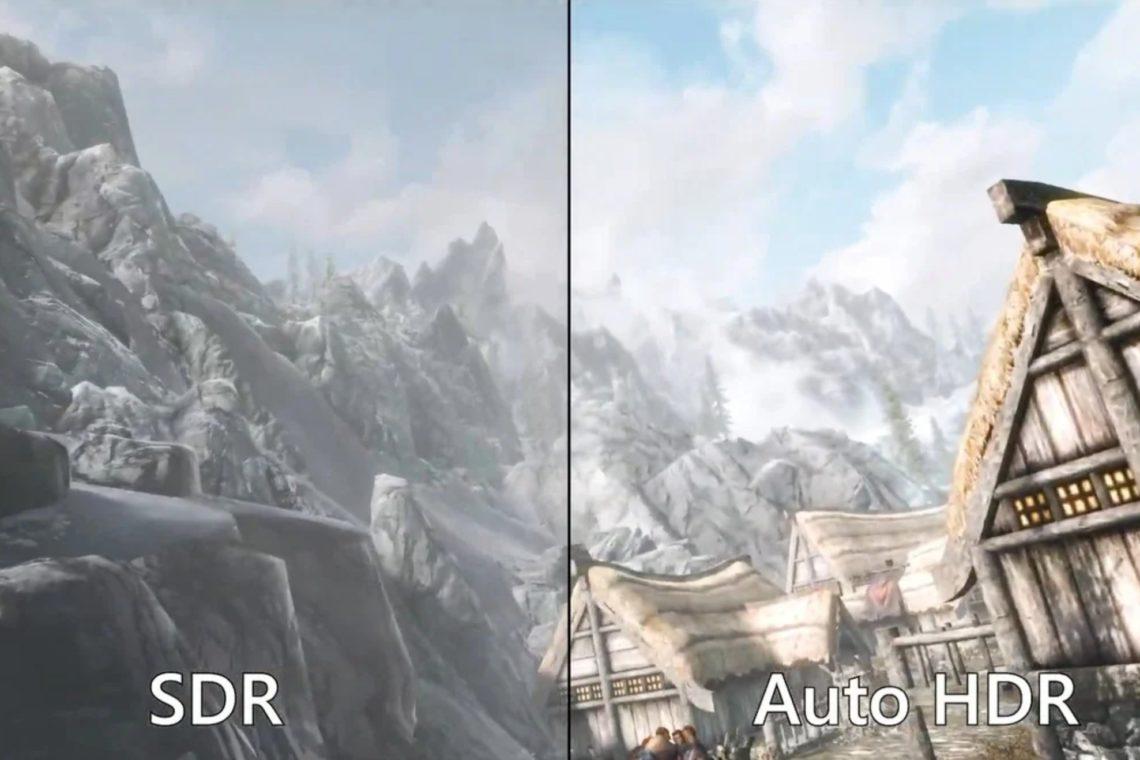 Auto HDR pour les jeux vidéo Windows 11